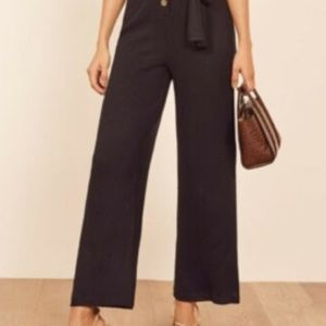 REFORMATION Jeans Pants & Jumpsuits - REFORMATION CAMILLE RIBBED KNIT JUMPSUIT
